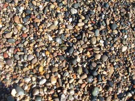 Illinois Beach State Park stones