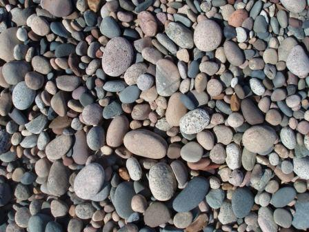 Whitefish Point beach stones