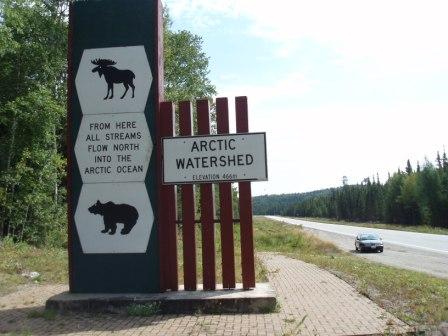 Watershed sign 2b