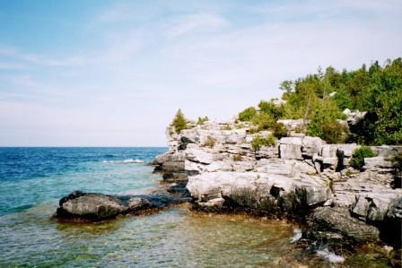 Dolomite cliff b