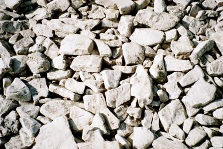 Dolomite fragments b