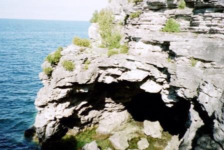 Dolomite sea cave b