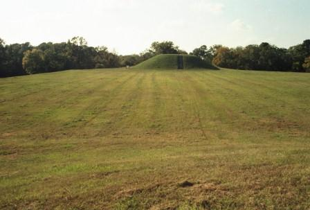 Here is that moundlet from the other end of a plain.