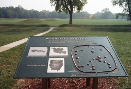 This site has been studied and preserved, as part of the Hopewell Culture National Historic Park, with interpretive amenities for the public.