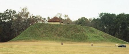 Moundville was part of the Mississippian culture, and so was connected to Cahokia.