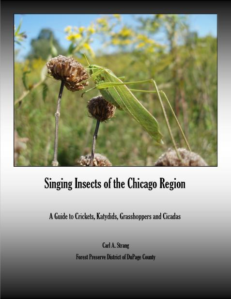 Singing Insect Guide 2014 cover