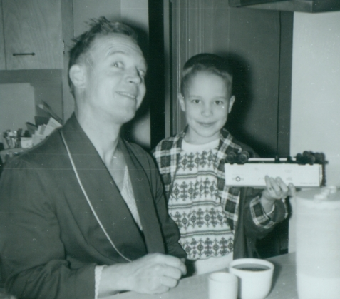 With Gary, 1962